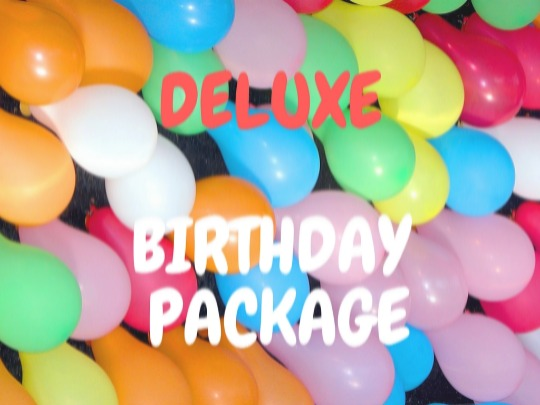Our Deluxe Party includes Pizza, Drinks, a $10 Arcade Card and unlimited use of the Soft Play area.