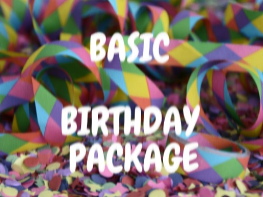 Basic Birthday Package